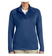 Ladies Stretch Quarter-Zip Tech-Shell®