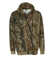 Code V Men's Realtree® Hooded Full-Zip Sweatshirt