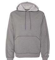 Champion Men's  Performance Colorblock Pullover Hooded Fleece