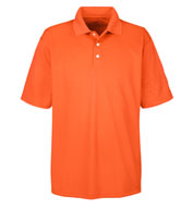 UltraClub Men's Cool and Dry Stain Release Performance Polo