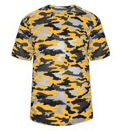 Badger Adult Camo Tee