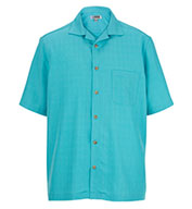 Jacquard Batiste Adult Camp Shirt