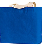 Bayside 12 oz.Cotton Canvas Jumbo Tote Bag