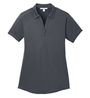 Ladies  Diamond Jacquard Polo