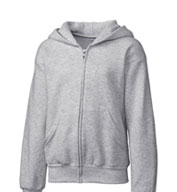 Clique Youth Basic Fleece Full Zip Hoodie