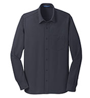 Men's Dimension Knit  Moisture Wicking Dress Shirt