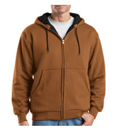 Cornerstone® Heavyweight Full-Zip Hooded Sweatshirt
