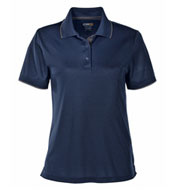 Ladies Motive Performance Pique Polo with Tipped Collar