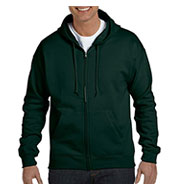 Hanes Adult EcoSmart® Full-Zip Hooded Sweatshirt