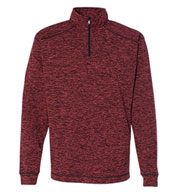 J. America Men's Cosmic Fleece Quarter-Zip Pullover