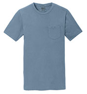 Port & Company® Adult Beach Wash™ Garment-Dyed Pocket Tee