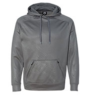 J. America Men's Volt Poly Hooded Pullover Sweatshirt
