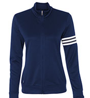 Adidas Women's 3-Stripes French Terry Full-Zip Jacket