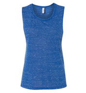 Bella + Canvas Women's Flowy Scoop Muscle Tank