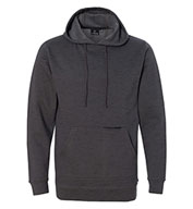 Burnside Men's Injected Yarn Dyed Fleece Hooded Pullover