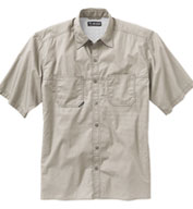 Dri Duck Men's Guide Performance Poplin Shirt