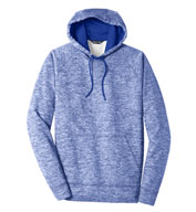 Sport-Tek® Adult PosiCharge® Electric Heather Fleece Hooded Pullover