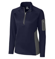 Ladies' Shaw Hybrid Half Zip