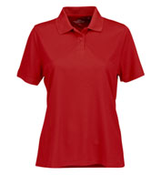 Vansport™ Omega Women's Solid Mesh Tech Polo