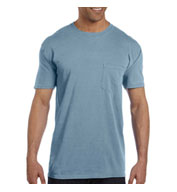 Adult Heavyweight Ringspun Pocket T-Shirt