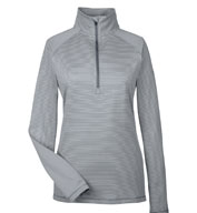 Under Armour Ladies' Tech Stripe Quarter Zip