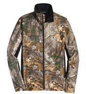 Port Authority®  Men's Camouflage Colorblock Soft Shell Jacket