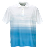 Vansport™ Pro Ombre Print Men's Polo