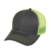 Outdoor Cap Contrast Mesh Back Cap