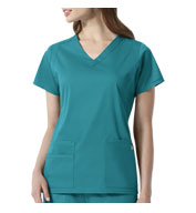 WonderWink Next™ Charlotte Women's V-Neck Scrub Top