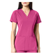 WonderWink HP™ Women's Sync V-Neck Scrub