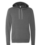 Bella  + Canvas Unisex Sponge Fleece Hooded Pullover Sweatshirt