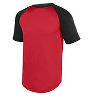 Augusta Adult Wicking Short Sleeve Baseball Jersey