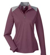 Team 365 Ladies Command Colorblock Quarter-Zip