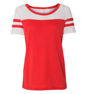Alternative Apparel Women's Vintage 50/50 Jersey Stadium Tee