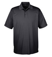 UltraClub Men's Tall Cool and Dry Mesh Pique Polo