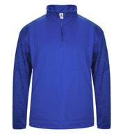 Adult Blend Sport Tonal Fleece 1/4 Zip