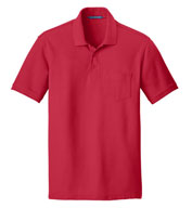 Adult Core Classic Pique Pocket Polo