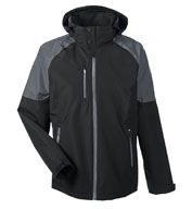 North End Men's Impulse Interactive Seam-sealed Shell
