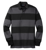 Classic Long Sleeve Adult Rugby Polo