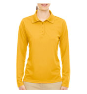 Ladies' Pinnacle Performance Long-Sleeve Polo