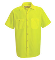 Red Kap Men's Enhanced Visibility Work Shirt