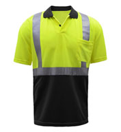 GSS Safety Class 2 SPF 50 Moisture Wicking Men's Polo