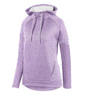 Augusta Ladies Zoe Tonal Heather Hoodie