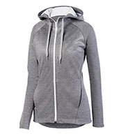 Ladies Zoe Tonal Heather Full Zip Hoodie