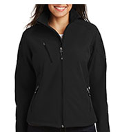 Port Authority Ladies' Textured Soft Shell Jacket