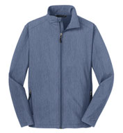 Men's Heather Core Soft Shell Jacket