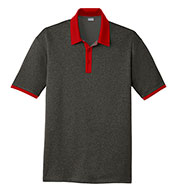 Sport-Tek® Men's Heather Contender™ Contrast Polo
