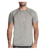 Next Level Men's Mock Twist Raglan T-Shirt