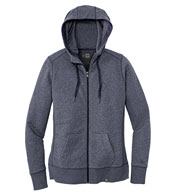 New Era® Ladies French Terry Full-Zip Hoodie