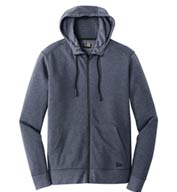 New Era® Men's Tri-Blend Fleece Full-Zip Hoodie